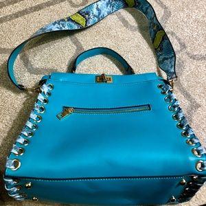 Handbags - Teal Aqua Blue Handbag Purse